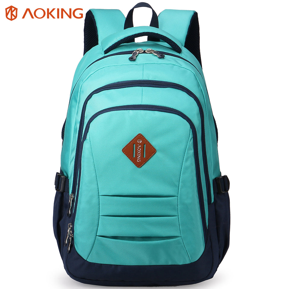 Useful school backpack with side pocket