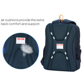 Ergonoomic daily backpack for school using