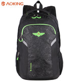 Aoking Casual Large Capacity Men Male Backpack Waterproof Daily Rucksack Travel Backpack Schoolbags for Teenager Girls