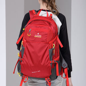 Hiking bag with bright color