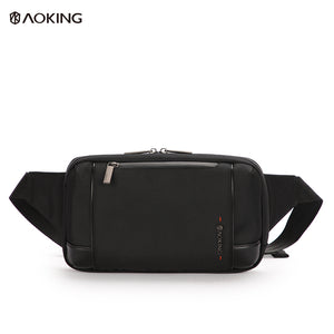 Aoking Spacious Lightweight Adjustable Breathable Male Belt Bag