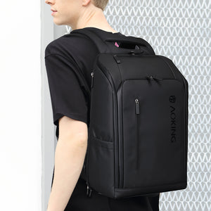 men black business backpack