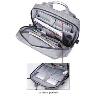 Durable Waterproof Anti Theft Laptop Backpack