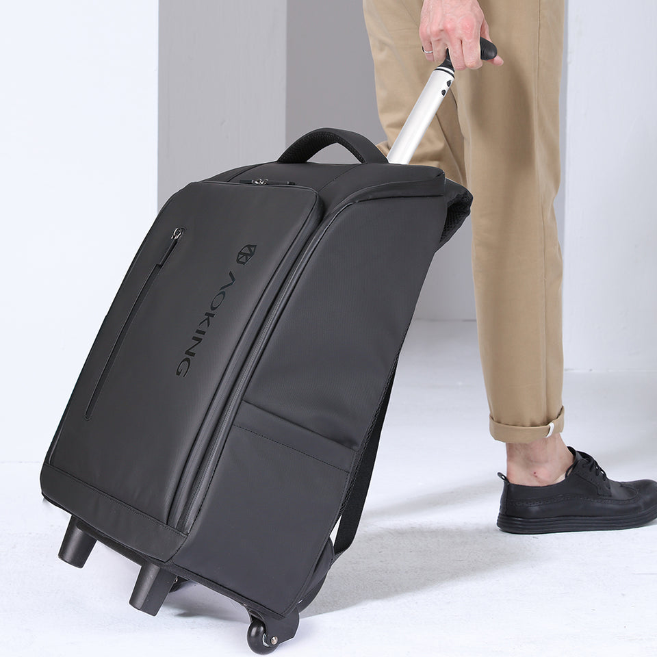 Trolley carry-on backpack for work