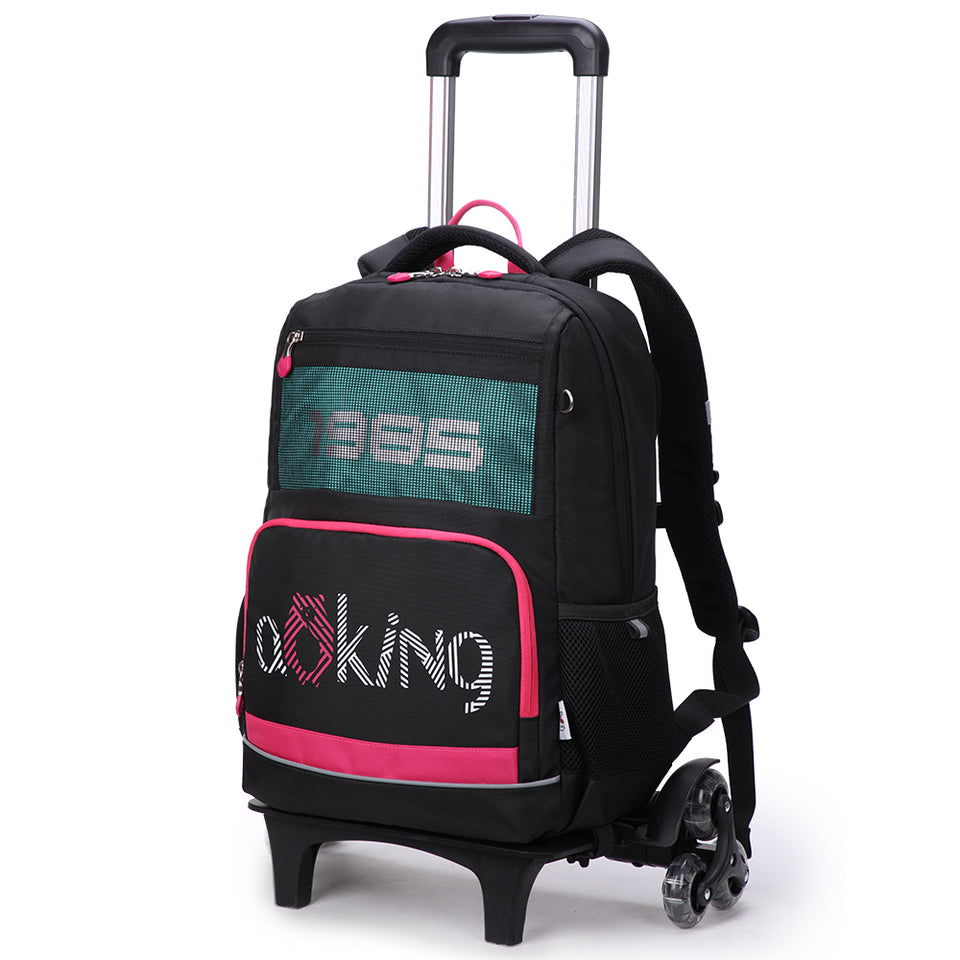 Multifunctional trolley bag for boys and girls