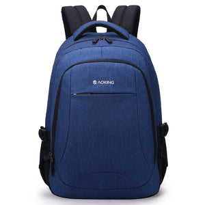 Aoking Men Backpack For 15.6 inches Laptop Backpack Large Capacity Casual Style Travel Backpack Waterproof School Backpack