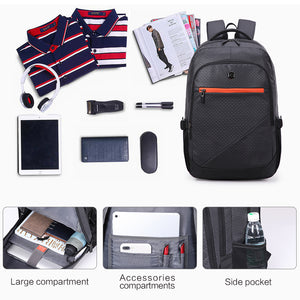 Men women travel laptop backpack