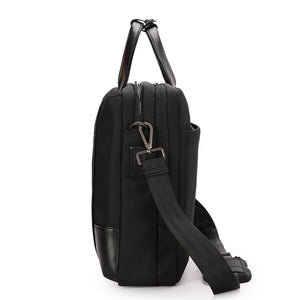 Aoking Anti-theft Dual USB Charging Business Briefcase Male Shoulder Bag