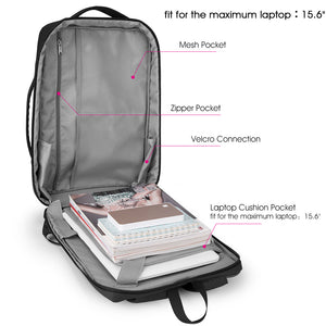 Backpack with soft bearing system