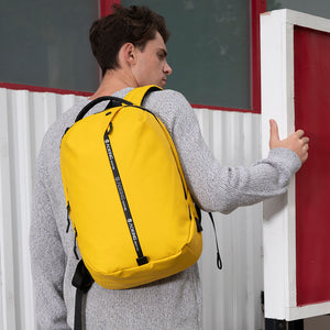 Large capacity bag with hidden zipper pocket