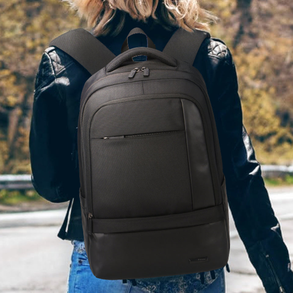 Durable school backpack along with bartack stitch