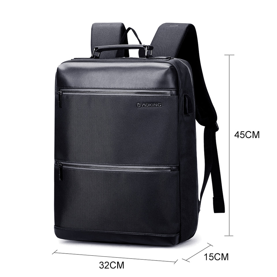 Anti Theft USB Travel Business Bag