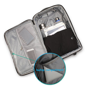 17'' laptop trolley bag