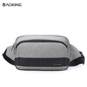 Aoking Large Capacity Adjustable Lightweight Male Belt Bag