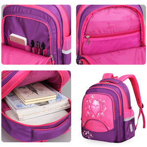 Children 's individual backpack with custom zippers