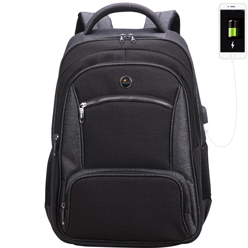 Water Resistant College School Bookbag