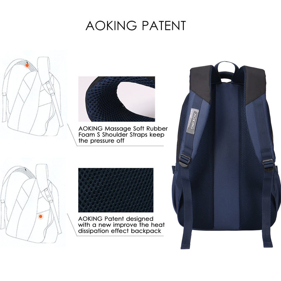 Comfort bags with mesh cushion