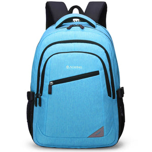 Water resistant school backpack