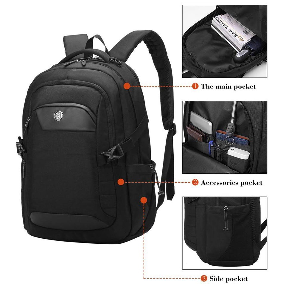 Multifunctional college school backpack