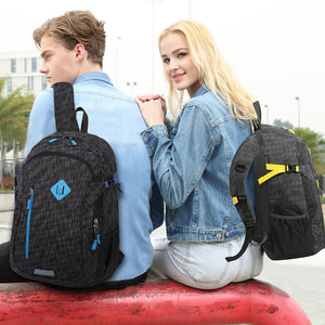 Backpack with unique weight reduction system