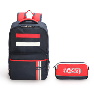 Backpack With Detachable Matching Pencil Case