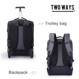 Waterproof trolley backpack