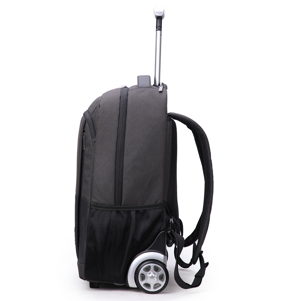 Trolley bag with fixed caster