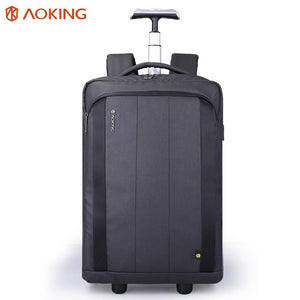 Luggage wheeled carry-on bag