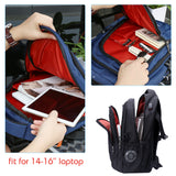 3 layer laptop backpack for men