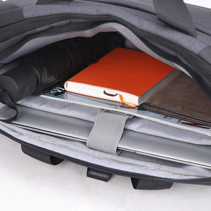 Aoking Anti-theft Spacious Laptop Briefcase Male Shoulder Bag