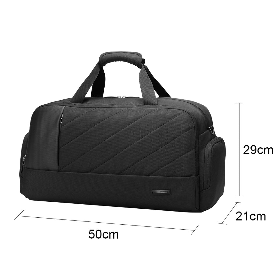 Lithe weight duffel backpack