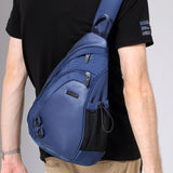 Comfortable sling bag with convenient pocket