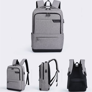 smart backpack with charger