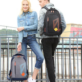 Lithe and convenient school backpack