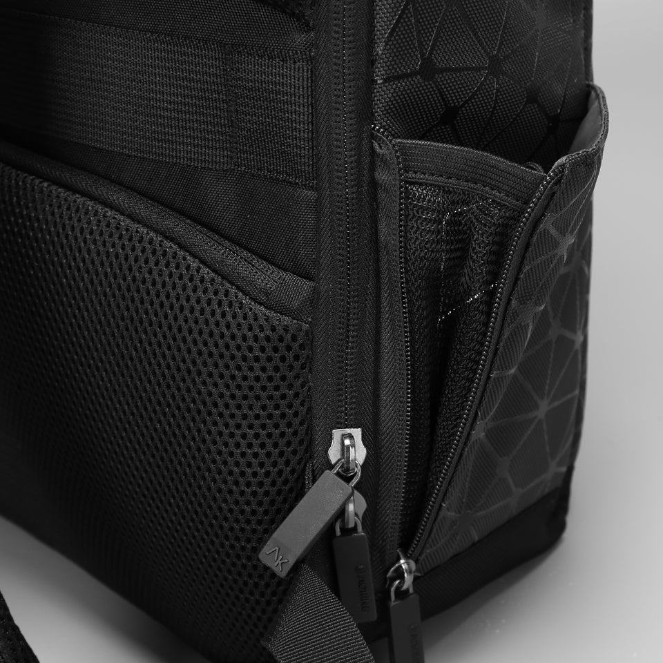 men dual backpack