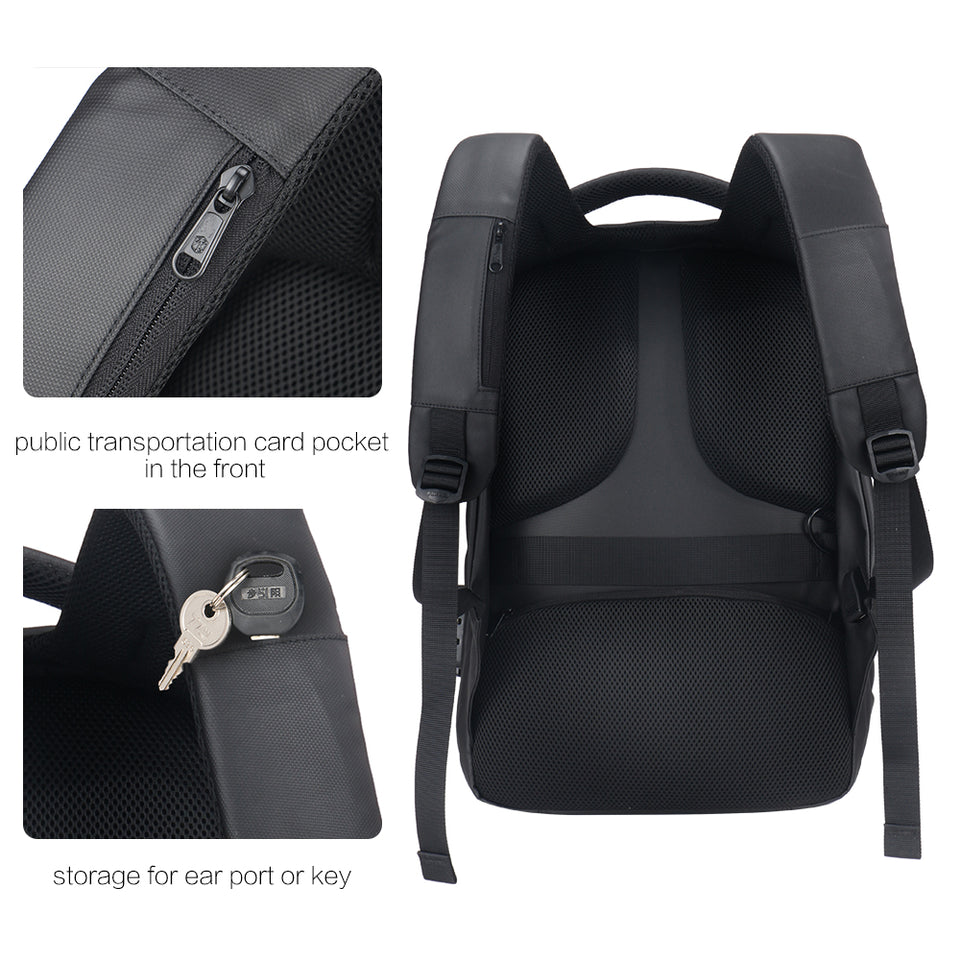 Daily backpack with suitable shoulder straps