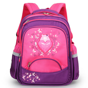 Aoking Children Backpack Primary Backpack Nylon Waterproof Leisure School Bags for Boy and Girls Large Capacity Backpack