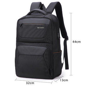Spacious travel backpack