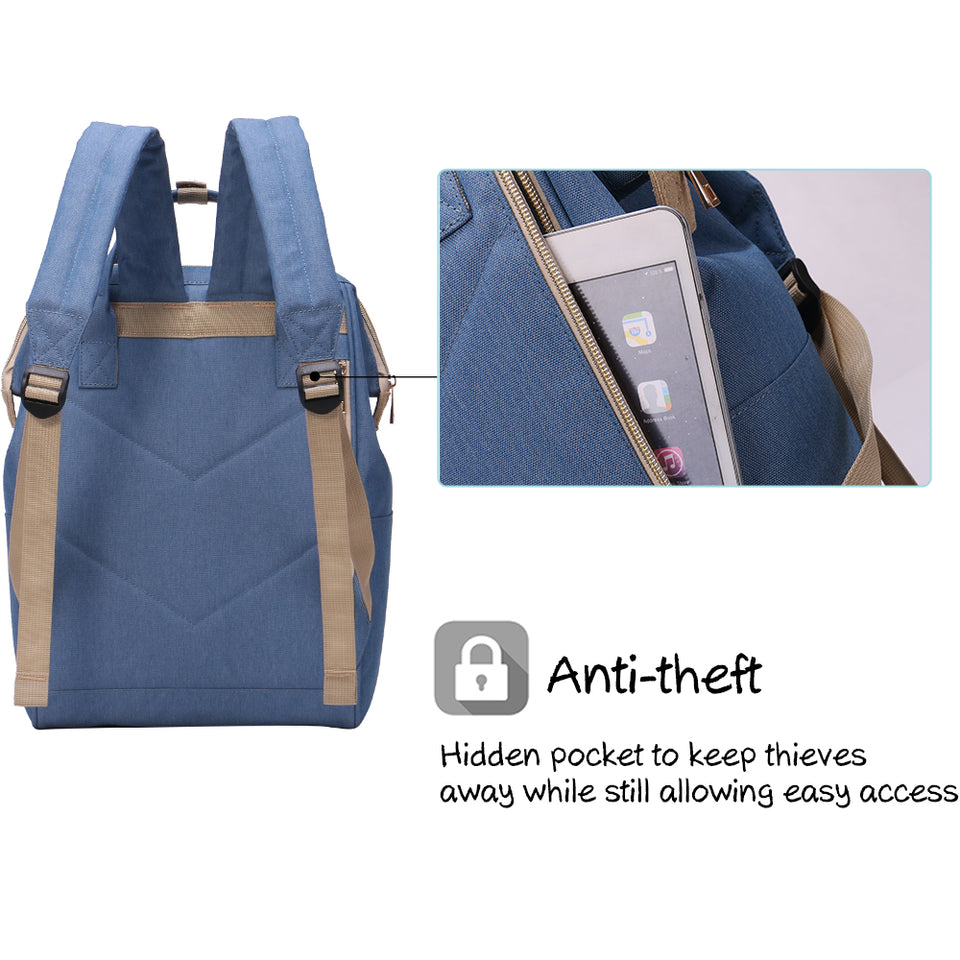 Anti-theft backpack for youngers