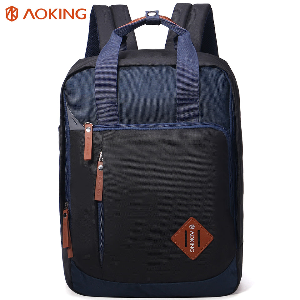 Backpack with many pockets for storing many accessories