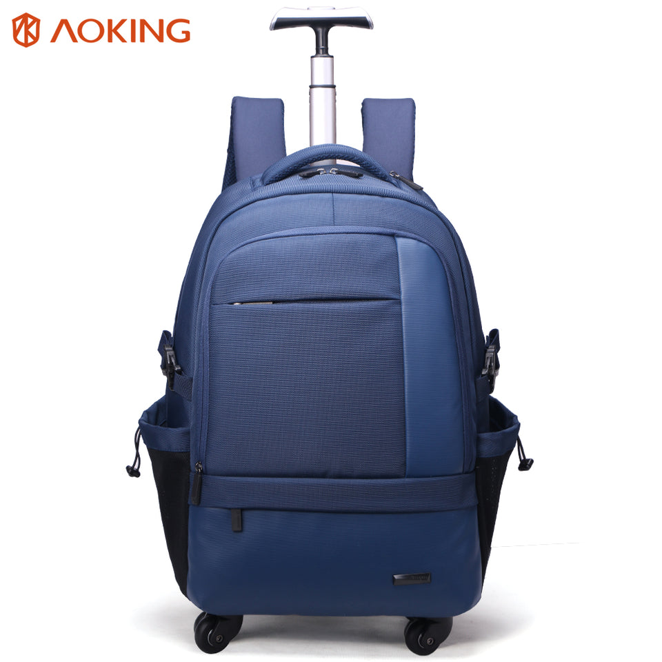 Multi-functional trolley bag with large capacity compartment