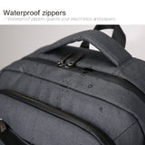 Business backpack with insulation compartment