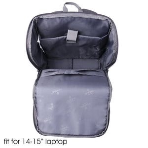 College student cotton backpack