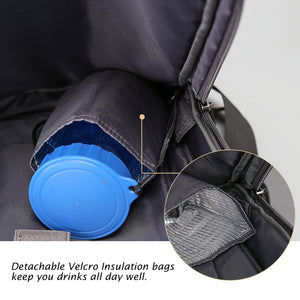 Travel bag with insulation pocket