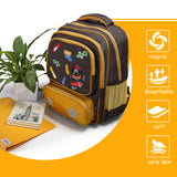 Children backpack with reflective strip
