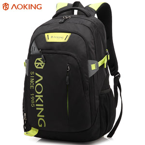 Travel backpack with bright color