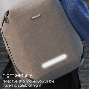 Anti-theft school backpack