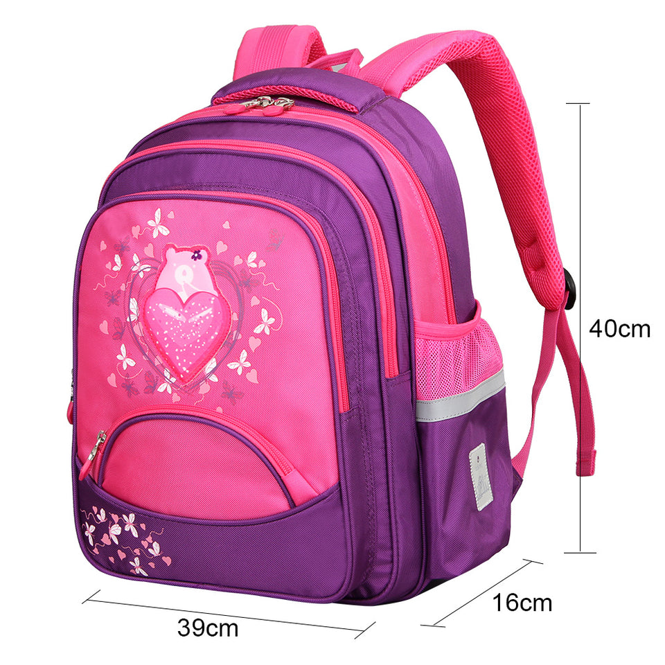 Large capacity daily backpack for boy and girls