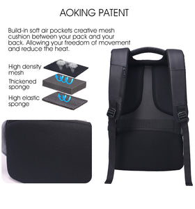 Backpack with soft and comfort design