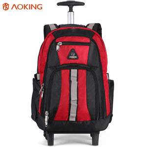 Strong backpack with independent computer layer